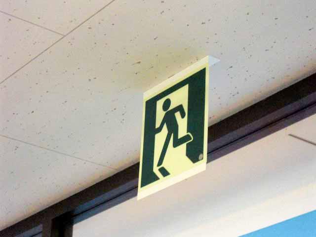 避難誘導標識