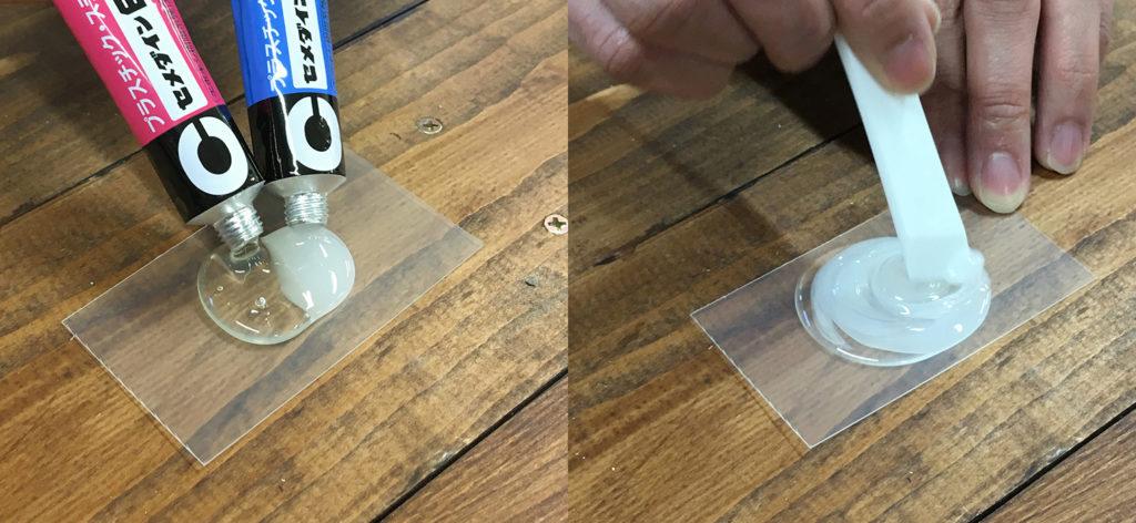 エポキシ樹脂の例、接着剤