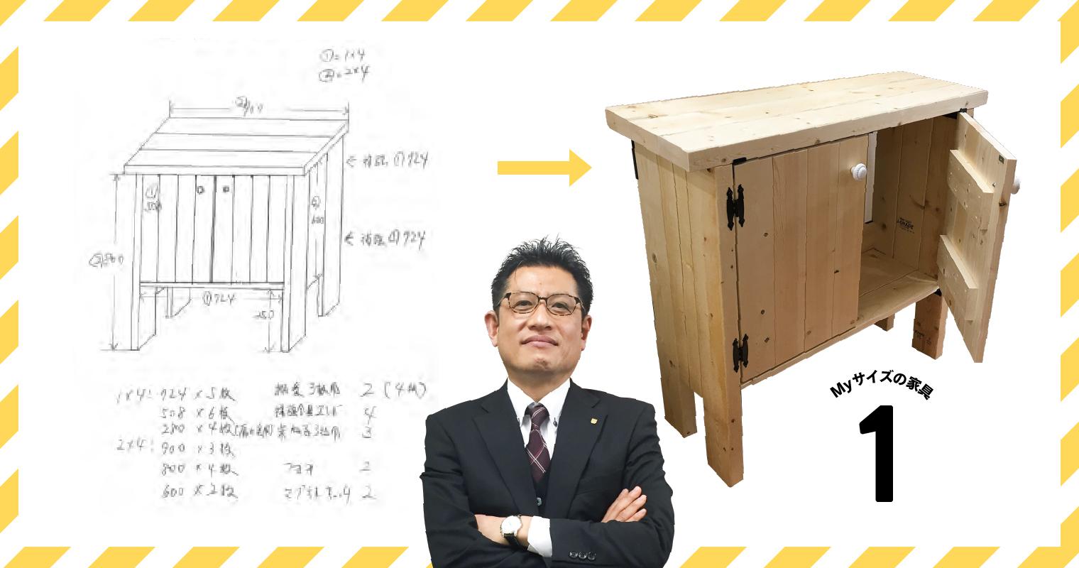 河西さんと小型家具、設計書