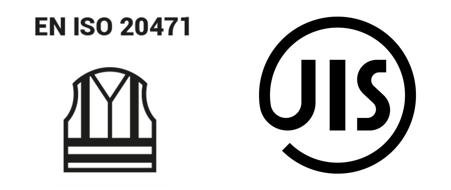 ISO規格(EN ISO 20471)や日本のJIS規格(JIS-T8127)