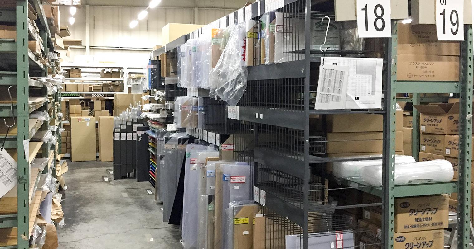 和気産業日野物流センター倉庫